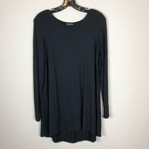 Eileen Fisher women's tunic top sz small black